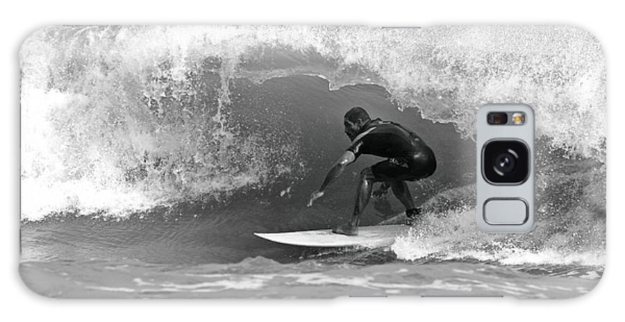 Surf Galaxy S8 Case featuring the photograph Barrel Ride by Daniel Hagerman