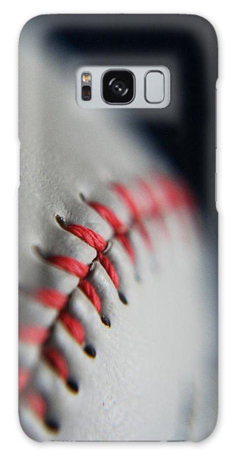 Photograph Galaxy S8 Case featuring the photograph Baseball Fan by Rachelle Johnston