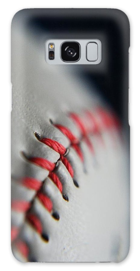 Photograph Galaxy S8 Case featuring the photograph Baseball Fan by Rachelle Johnston
