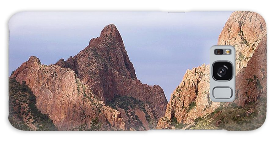 Big Bend Texas Galaxy S8 Case featuring the photograph Basin View Big Bend Texas by Mona Davis