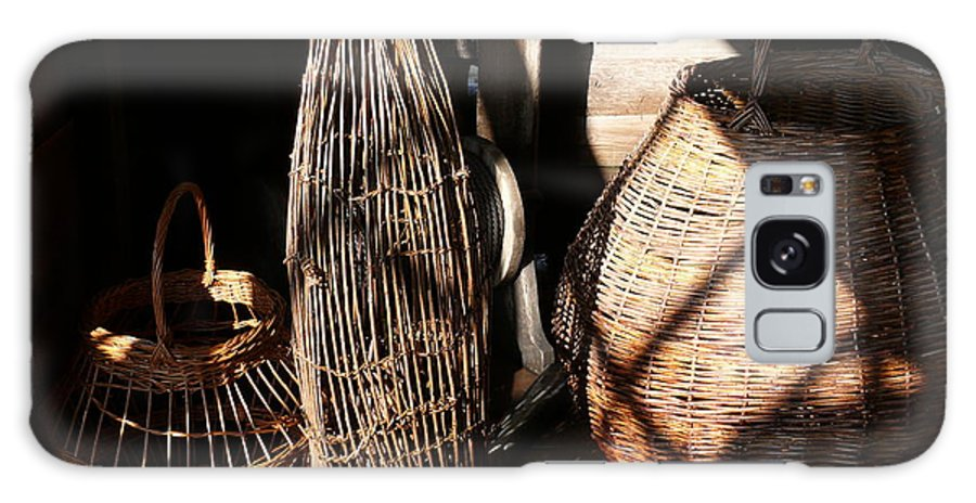 Basket Galaxy S8 Case featuring the photograph Baskets by Mark Grayden