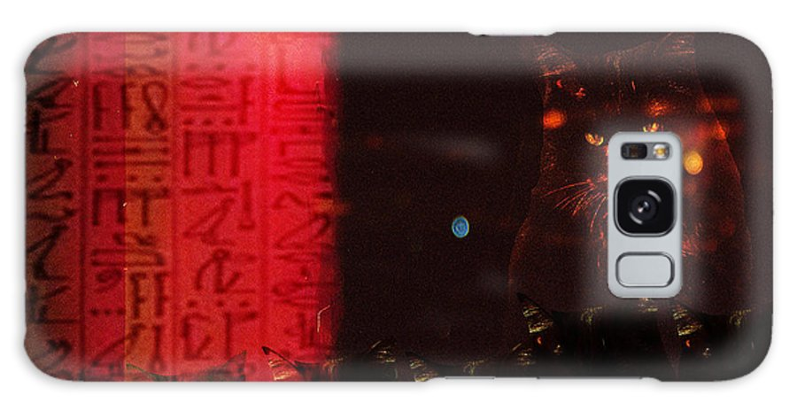 Cats Galaxy S8 Case featuring the photograph Bastet's Minions by Ann Tracy