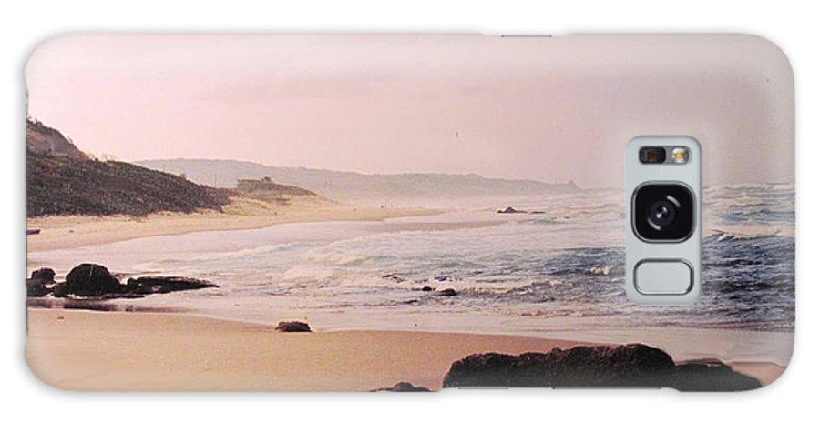 Barbados Galaxy S8 Case featuring the photograph Bathsheba Coast Barbados by Ian MacDonald