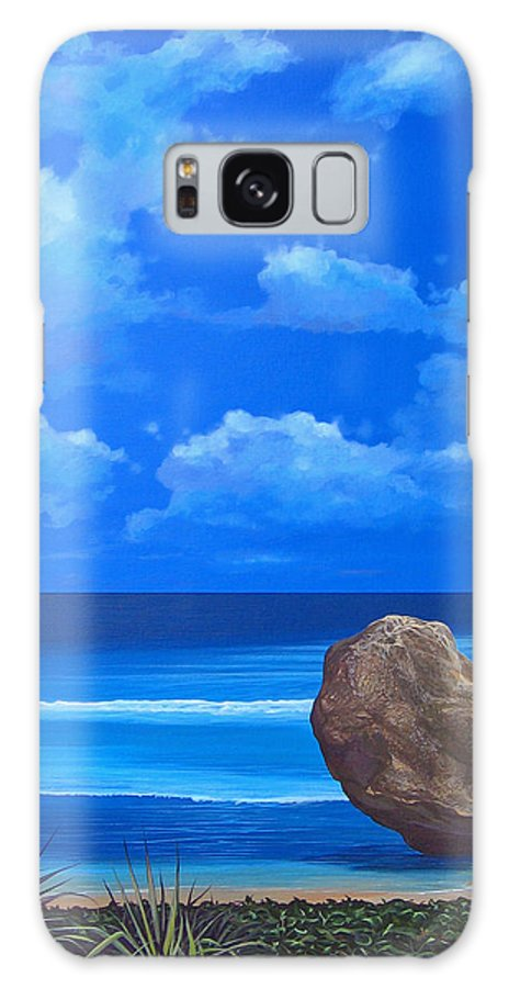 Barbados Galaxy Case featuring the painting Bathsheba by Hunter Jay