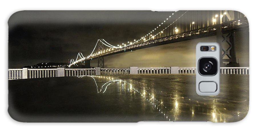 Bay Bridge Galaxy S8 Case featuring the photograph Bay Bridge San Fransico by Coleman Mattingly