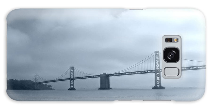 Bay Galaxy S8 Case featuring the photograph Bay Bridge by Tom Reynen