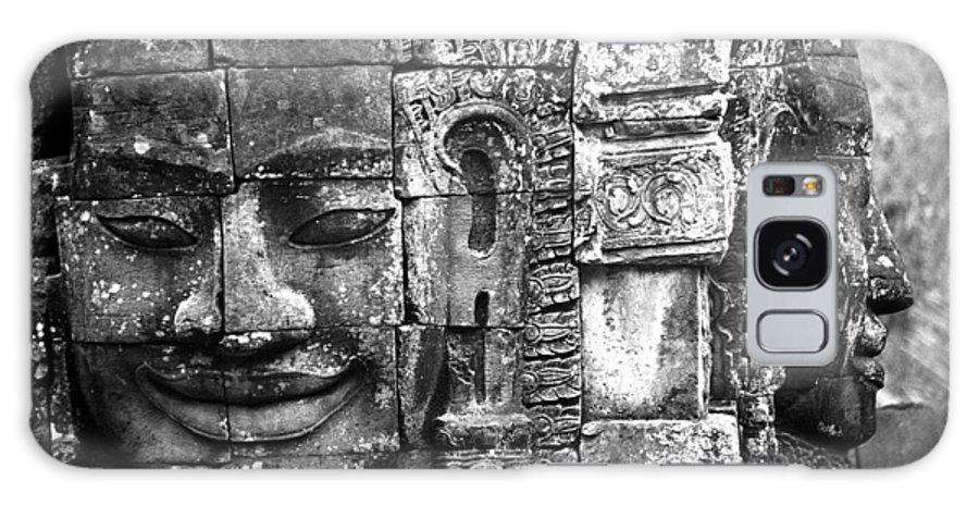 Bayon Temple Galaxy Case featuring the photograph Bayon IIi by Patrick Klauss