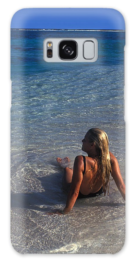 Beautiful Galaxy Case featuring the photograph Beach At Little Cayman by Carl Purcell