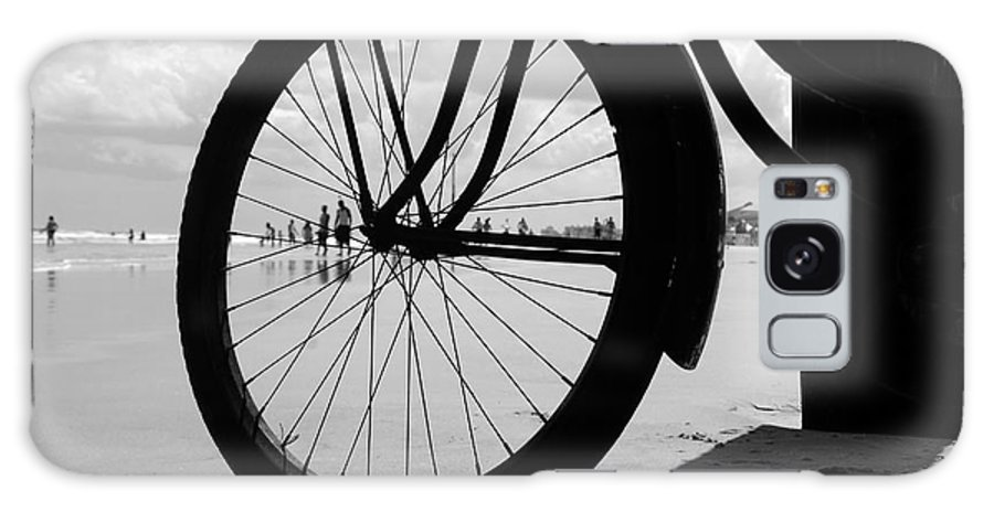 Beach Galaxy S8 Case featuring the photograph Beach Bicycle by David Lee Thompson