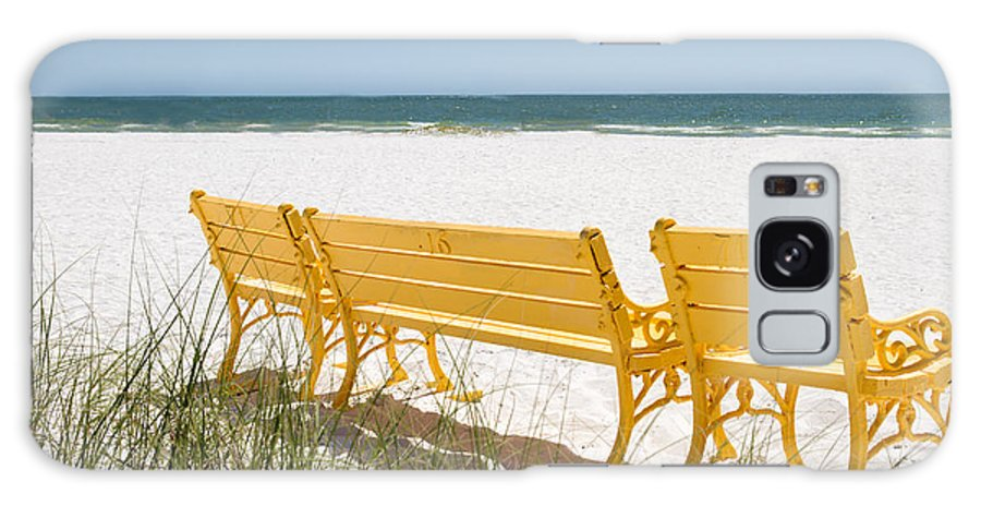 Beach Chair Galaxy S8 Case featuring the photograph Beach Chairs By Darrell Hutto by J Darrell Hutto