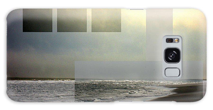 Beach Galaxy Case featuring the photograph Beach Collage 2 by Steve Karol