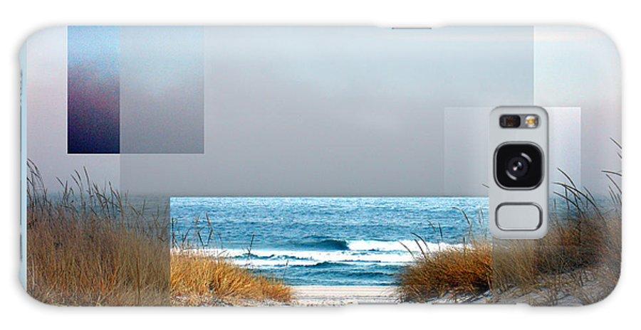 Beach Galaxy Case featuring the photograph Beach Collage by Steve Karol