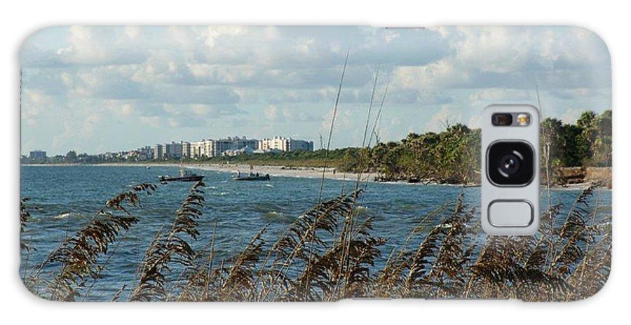 Beach Galaxy S8 Case featuring the photograph Beach Dunes by Florene Welebny