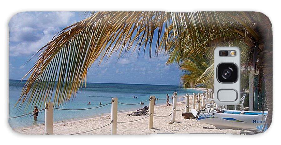 Beach Galaxy S8 Case featuring the photograph Beach Grand Turk by Debbi Granruth