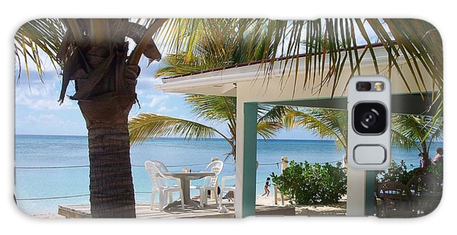 Beach Galaxy S8 Case featuring the photograph Beach In Grand Turk by Debbi Granruth