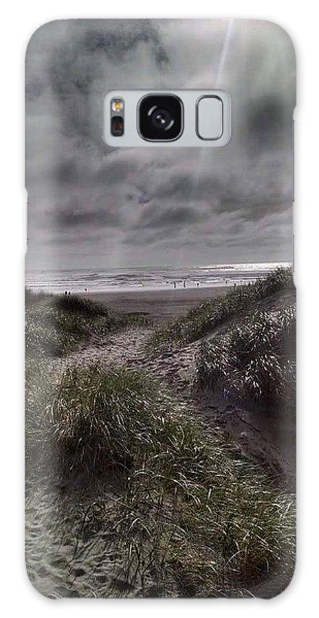 Beach Galaxy Case featuring the photograph Beach path by Shari Chavira