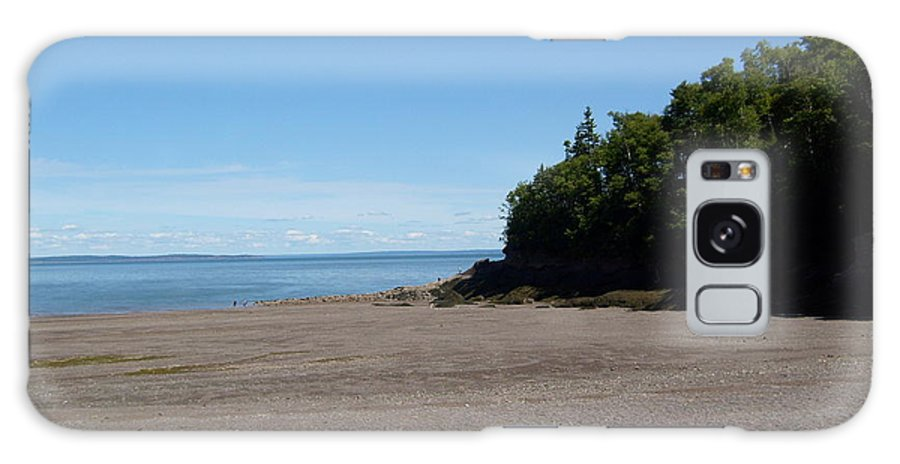 Beach Galaxy Case featuring the photograph Beach Scene by Melissa Parks