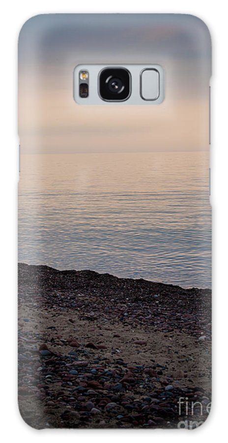Sunset Galaxy S8 Case featuring the photograph Beach Sunset by Wesley Farnsworth