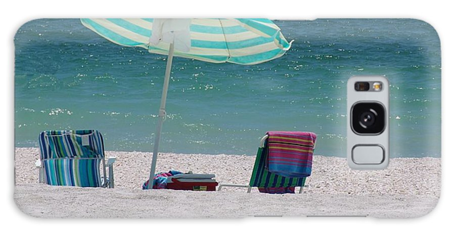 Beach Galaxy Case featuring the photograph Beach Time Is Near by Florene Welebny