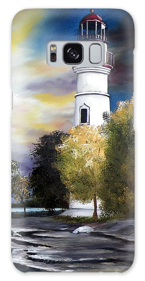 Art Galaxy Case featuring the painting Beacon of Hope by RB McGrath