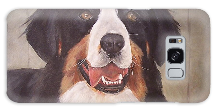 Dogs Galaxy S8 Case featuring the painting Beau by Elizabeth Ellis