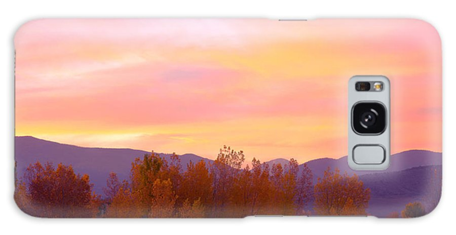 Sunsets Galaxy S8 Case featuring the photograph Beautiful Autumn Sunset by James BO Insogna