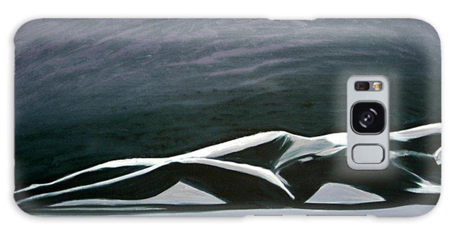 Art Galaxy S8 Case featuring the painting Beautiful Diver by Jarmo Korhonen aka Jarko