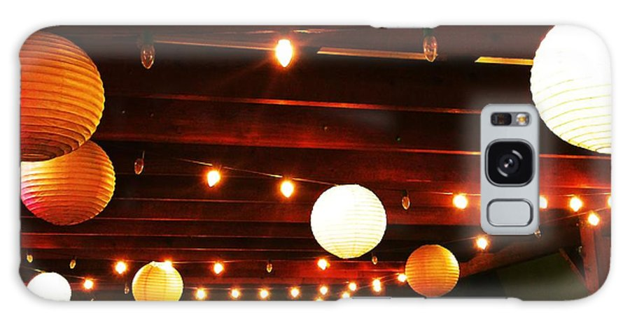 Patio Galaxy S8 Case featuring the photograph Beautiful Lights by Venus
