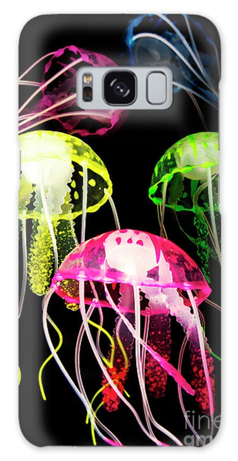 Medusa Galaxy Case featuring the photograph Beauty In Black Seas by Jorgo Photography - Wall Art Gallery