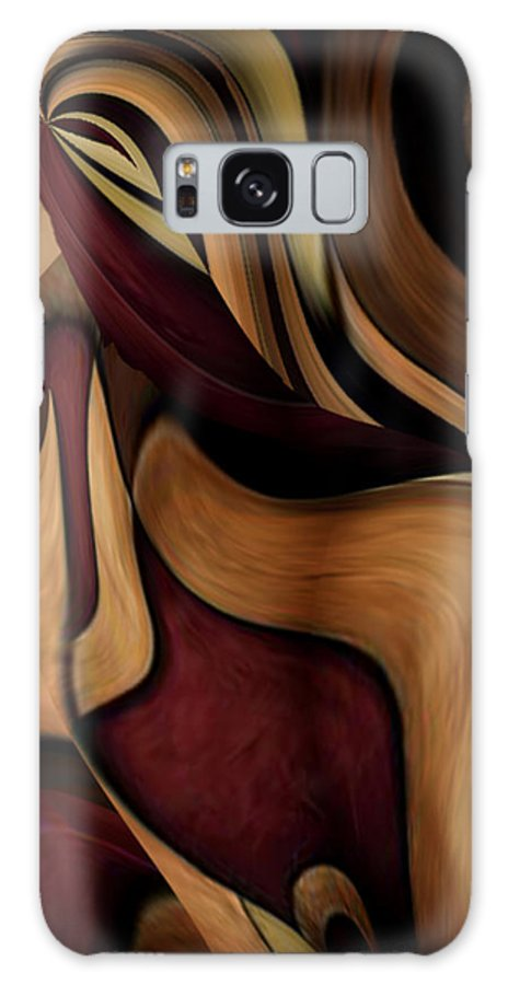 Beauty Queen Galaxy S8 Case featuring the painting Beauty Queen by Jill English