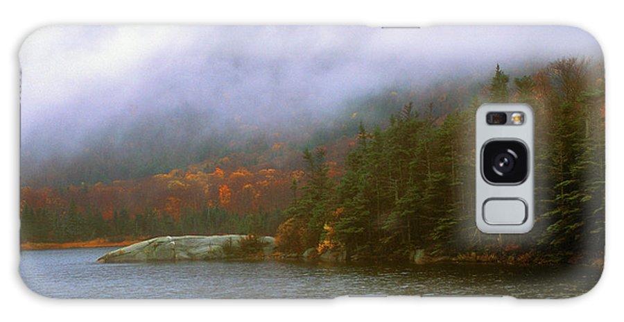 Mount Moosilauke Galaxy S8 Case featuring the photograph Beaver Pond Kinsman Notch Autumn Storm by John Burk