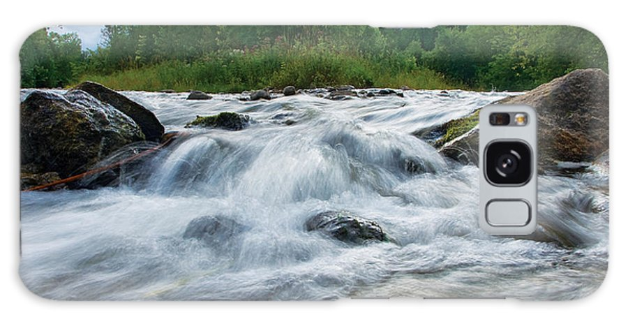 Beaver River Galaxy S8 Case featuring the photograph Beaver River Rapids by Steve Somerville