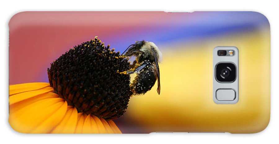 Insects Galaxy S8 Case featuring the photograph Bee All You Can Bee by Linda Sannuti