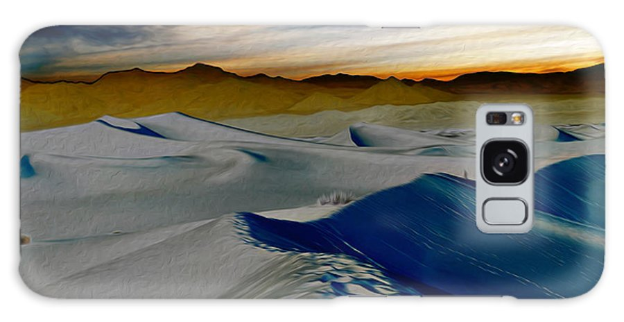 Death Valley Galaxy S8 Case featuring the photograph Been Through The Desert by Joe Schofield