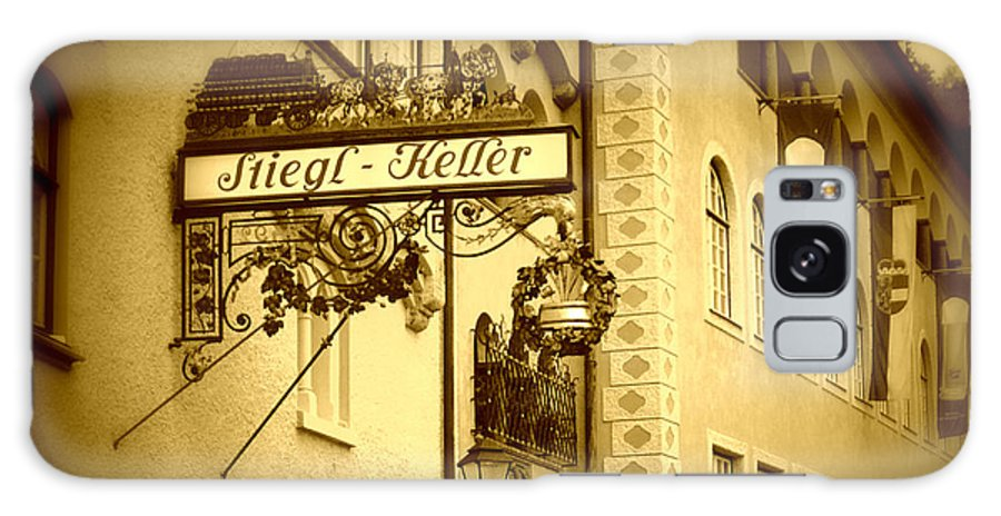 Beer Hall Galaxy S8 Case featuring the photograph Beer Cellar In Salzburg by Carol Groenen