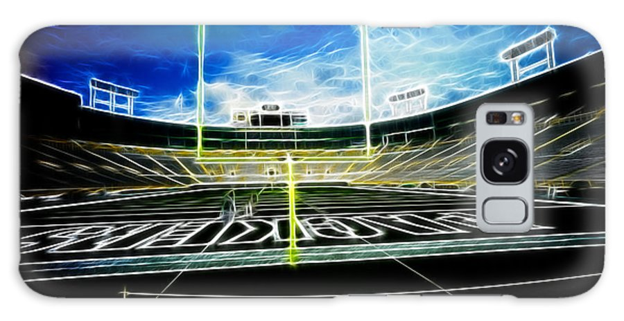 Lambeau Field Galaxy S8 Case featuring the photograph Before The Big Game by Lawrence Christopher