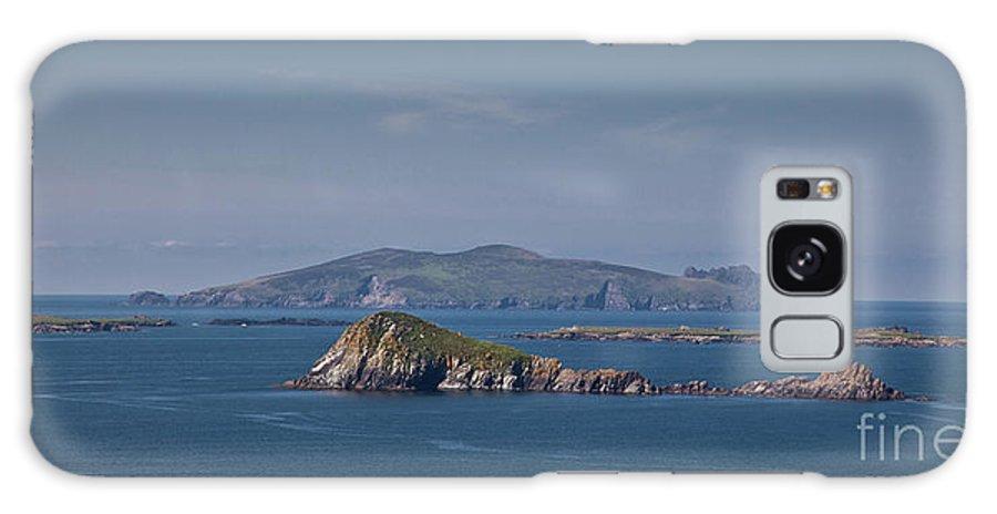 Kerry Coast Galaxy S8 Case featuring the photograph Beginish Island by Gabriela Insuratelu