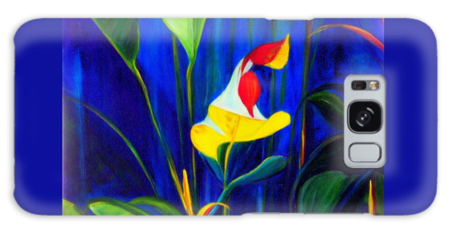 Hawaiian Galaxy S8 Case featuring the painting Beginnings by Dina Holland