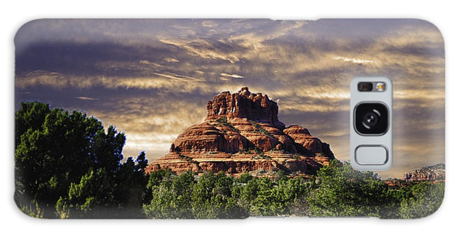 Bell Rock Galaxy S8 Case featuring the photograph Bell Rock In Hdr by Frank Feliciano