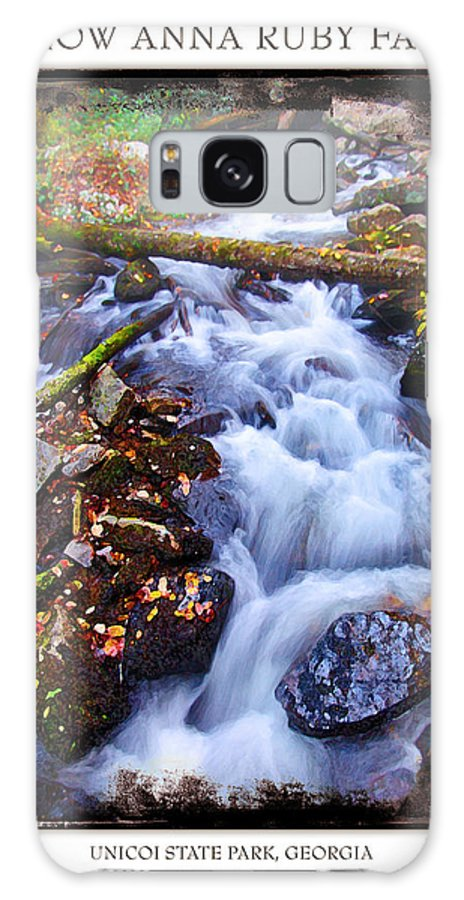 Landscape Galaxy Case featuring the photograph Below Anna Ruby Falls by Peter Muzyka