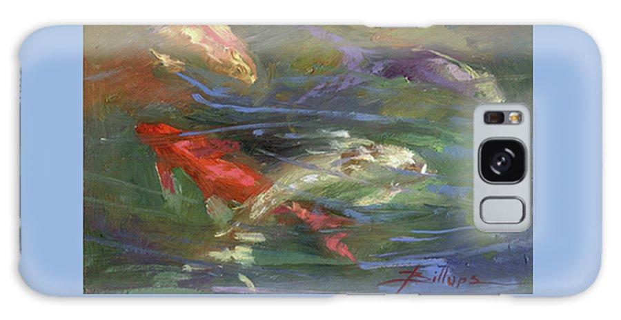 Plein Air Galaxy S8 Case featuring the painting Below The Surface by Betty Jean Billups