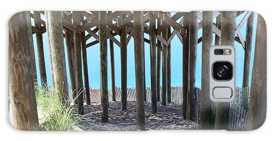 Sleeping Galaxy S8 Case featuring the photograph Beneath The Pier by Curtis Krusie