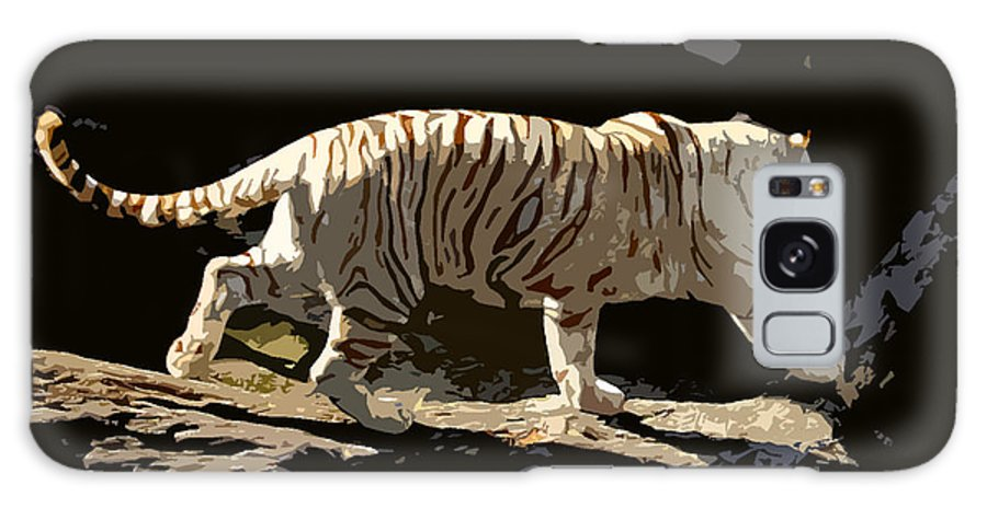 Bengal Tiger Galaxy S8 Case featuring the painting Bengal Tiger by David Lee Thompson