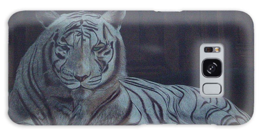 Wild Live Galaxy Case featuring the painting Bengala Tiger by Fanny Diaz