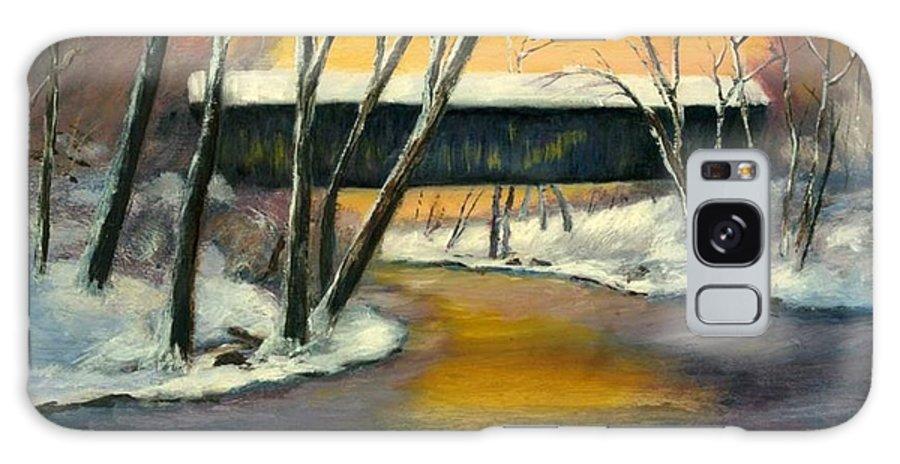 Kentucky Galaxy S8 Case featuring the painting Bennett by Gail Kirtz