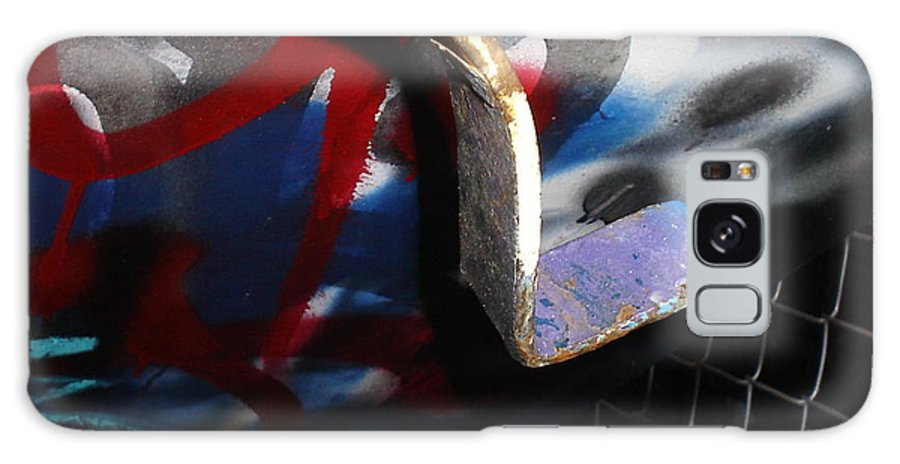 Urban Art Galaxy S8 Case featuring the photograph Bent by Chandelle Hazen