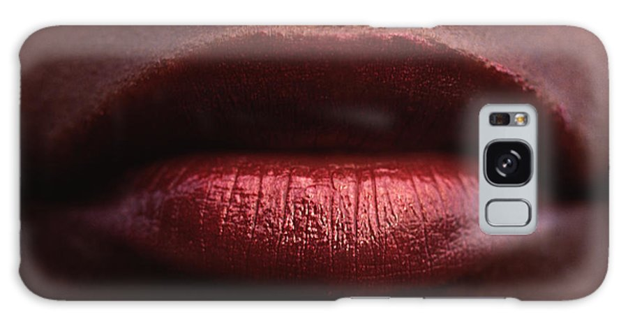 Lips Galaxy Case featuring the photograph Besame Mucho by Michael Mogensen