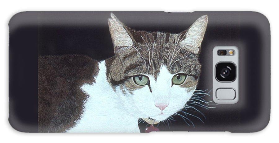 Karen Zuk Rosenblatt Art And Photography Galaxy S8 Case featuring the painting Best Cat by Karen Zuk Rosenblatt