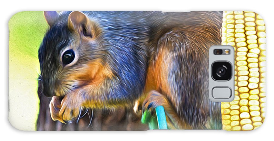 Sciuridae Galaxy S8 Case featuring the photograph Best Seat In The House by Lana Trussell