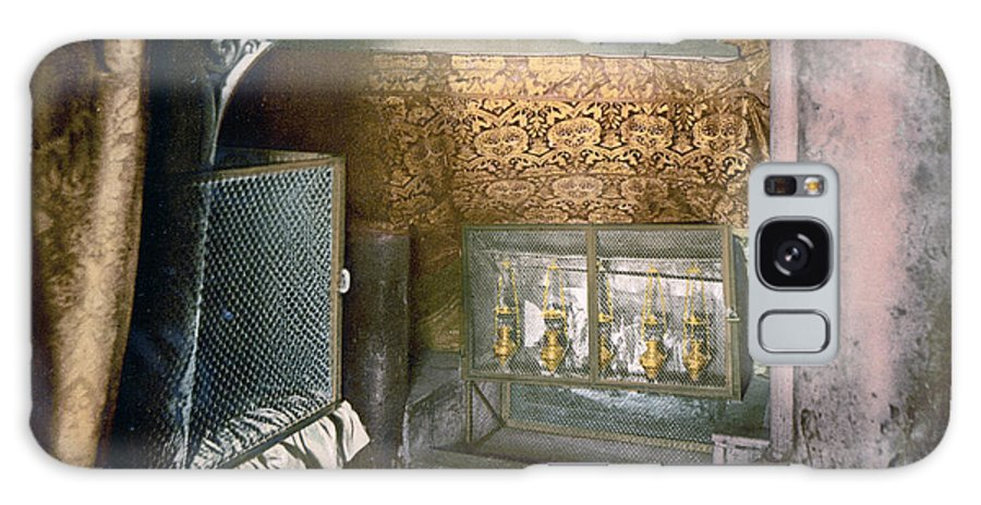 Church Galaxy S8 Case featuring the photograph Bethlehem - Nativity Church 1890 by Munir Alawi